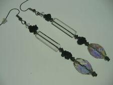 Glass Agate Costume Earrings