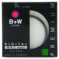 B+W 62mm XS-PRO XSP Digital 010M MRC UV Nano Filter  Circular For Camera Lens