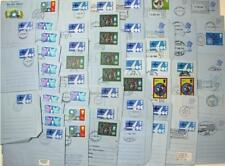 57 x Used Air Letters. Different  Designs, Handstamps, First Day etc. Many Scans
