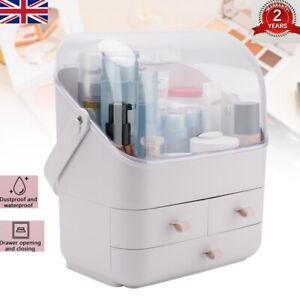 Large Cosmetic Organizer Box Desktop Make-up Holder Jewelry Storage Case Drawers