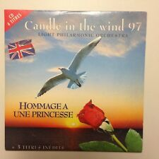 CD PROMO INTIMITE N°16 // CANDLE IN THE WIND 97 HOMMAGE A UNE PRINCESSE