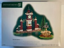 Mib-Dept 56-Christmas in the City–Park Gateway–Department 56 Accessory, Set of 2