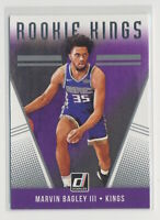2018-19 Marvin Bagley III Panini Donruss Rookie Kings RC #4 Sacramento Kings