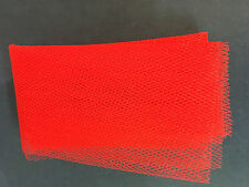 Model Boat Fittings Fishing Net Red 700mm x 500mm CMBFPRO
