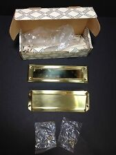 Baldwin Brass Letter Box/Mail Slot Plate in 030 Polished Brass Free Ship