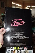 Emmy Promotional Brochure for Fame 1979 Movie