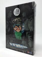 Yu Yu Hakusho Ghost Files DVD Collection 1w/Yusuke Urameshi PVC Die Cut Keychain