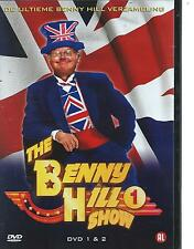 BENNY HILL - COMPLETE  SERIES 1 & 2 on 8 DVD'S  ENGLISH / NEDERLANDS R2