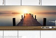 Küchen Fliesenspiegel Deko Küchen Spritzschutz Wandschutz Sonnenuntergang 48