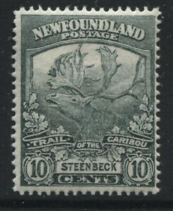 Newfoundland 1919 Trail of the Caribou 10 cents unmounted mint NH