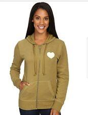 0cfb85b186b Women s life is good vibes heart zip up hooded sweatshirt hoodie size m