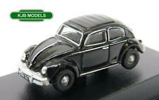 BNIB N GAUGE OXFORD 1:148 NVWB005 VW Beetle Black Car