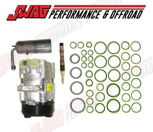 03-07 Ford 6.0 6.0L Powerstroke Diesel A/C Compressor & Clutch Drier Orfice Kit