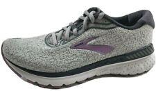 Brooks Adrenaline GTS 20 Womens Running Shoes Gray Purple 6.5 Medium 1202961B030