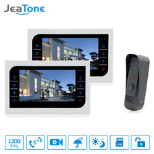 """JeaTone 10 """" Video Door Phone Intercom Doorbell Monitor Home security cameras"""
