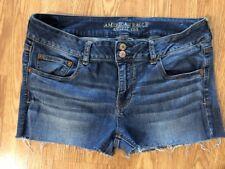 """Women's American Eagle 14 Artist Cut-off Denim Jean Shorts. Inseam 2"""". Cute!"""