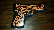 NEW NWT THE MECHANIC promotional movie T shirt folded in plastic into gun shape