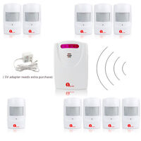 100M Wireless Motion Sensor Driveway Alert Patrol Home Security Alarm System