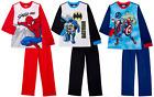 Spiderman Marvel, Batman,Avengers Boys Pajamas Flannel Sleepwear 2 PC PJ Set NWT
