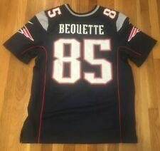 Jake Bequette New England Patriots Authentic Player Event Worn Nike Elite Jersey