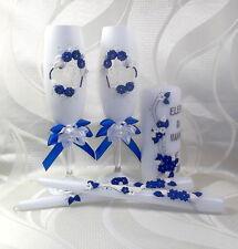 Sekt Hochzeitsgläser Hochzeitskerzen  Geschenkidee Geschenk