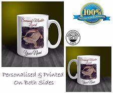 Savannah monitor lizard personnalisé mug céramique: cadeau parfait. (P040)