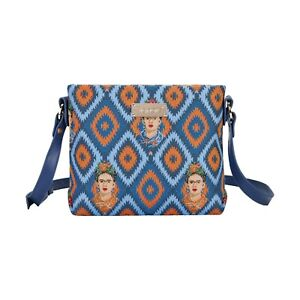 FRIDA KAHLO ICON CROSSBODY SMALL SHOULDER BAG FOR WOMEN SIGNARE TAPESTRY CANVAS