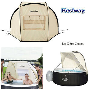Bestway Lay-Z-Spa Garden Hot Tub Waterproof Canopy Compatible for All Tubs