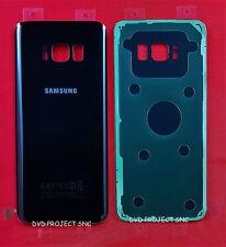 REAR COVER POSTERIORE COPRI BATTERIA SAMSUNG GALAXY S8 SM-G950F G950 NERO BLACK