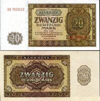 GERMANY 20 MARK 1948 P 13 UNC