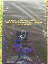 CARLOS VIVES + AMIGOS DESDE ESTADIO EL CAMPIN DE BOOTA DVD & CD ~ New & Sealed!