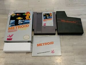Metroid (Nintendo NES) Complete - Tested - Authentic
