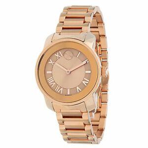 Movado 3600441 Women's Bold Rose-Gold Quartz Watch