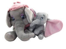 """disney parks baby dumbo plus 15"""" mrs. dumbo mother plush new with tag"""