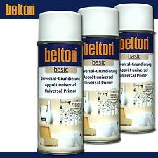Kwasny Belton basic 6 x 400 ml Universal-Grundierung Weiß Spray Perfekter Grund