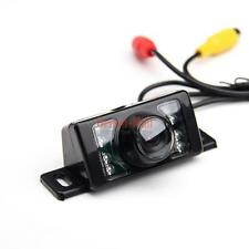 12V 7LED Mini Color CCD Reverse Backup Car Rear View Camera Night Vision