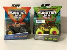 MONSTER JAM ZOMBIE Invasion EL TORO LOCO Walmart Exclusive + Series 13 Wreckless