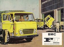 BMC FJ & FJT Series Truck 1968-69 UK Market Sales Brochure 950 1160 1300 1800