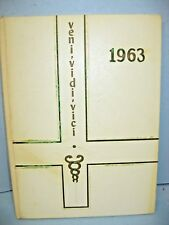 1963 Veni Vidi Vici, St Joseph's Sch of Nursing London, Ontario, Canada Yearbook