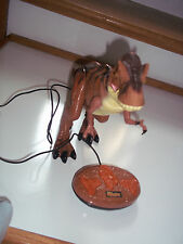 Remote Control T-REX Dinosaur Mighty Megasaur -Roars , Walks and Eyes Light Up