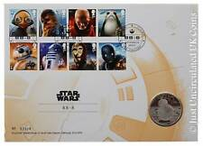 Brand New Royal Mail STAR WARS™ Medal Cover BB-8 Limited Edition Royal Mint
