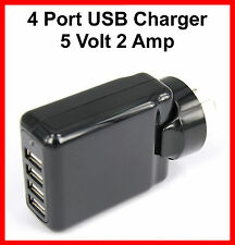 4 Port USB AC Wall Charger Power Adapter for iPhone 5 iPod Touch 5 iPad Mini 3
