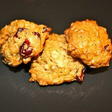 Orange Cranberry Walnut Oatmeal Cookies (1 pound- approximately 45 bite size coo