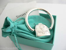 Tiffany & Co Silver Rolling Swing Birth Date Rattle Teether Rare No Dents!