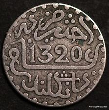 MAROC MOROCCO  ABDUL AZIZ I° , DIRHAM ARGENT 1320 - B9