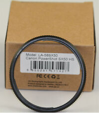 Canon Powershot SX50 IS Metal Lens / Filter Adapter Ring 58mm SX50IS SX60 SX530