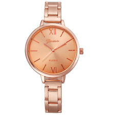 Luxury Geneva Dress Watch Women Stainless Steel Big Dial Analog Quartz Watches