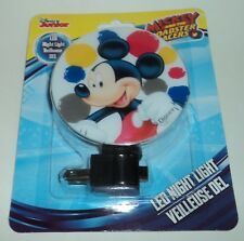 Disney Jr Mickey & The Roadster Racers Night Light Nip #106
