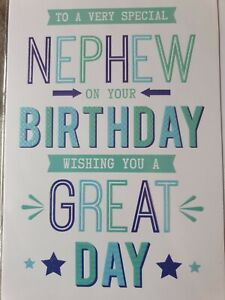 Nephew Birthday Card - Premier Publishing