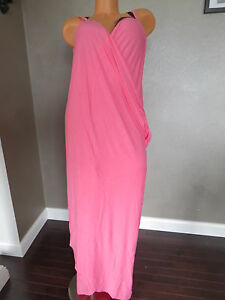 VICTORIA`S SECRET!!! PINK BEACH COVER-UP SIZE:X-LARGE